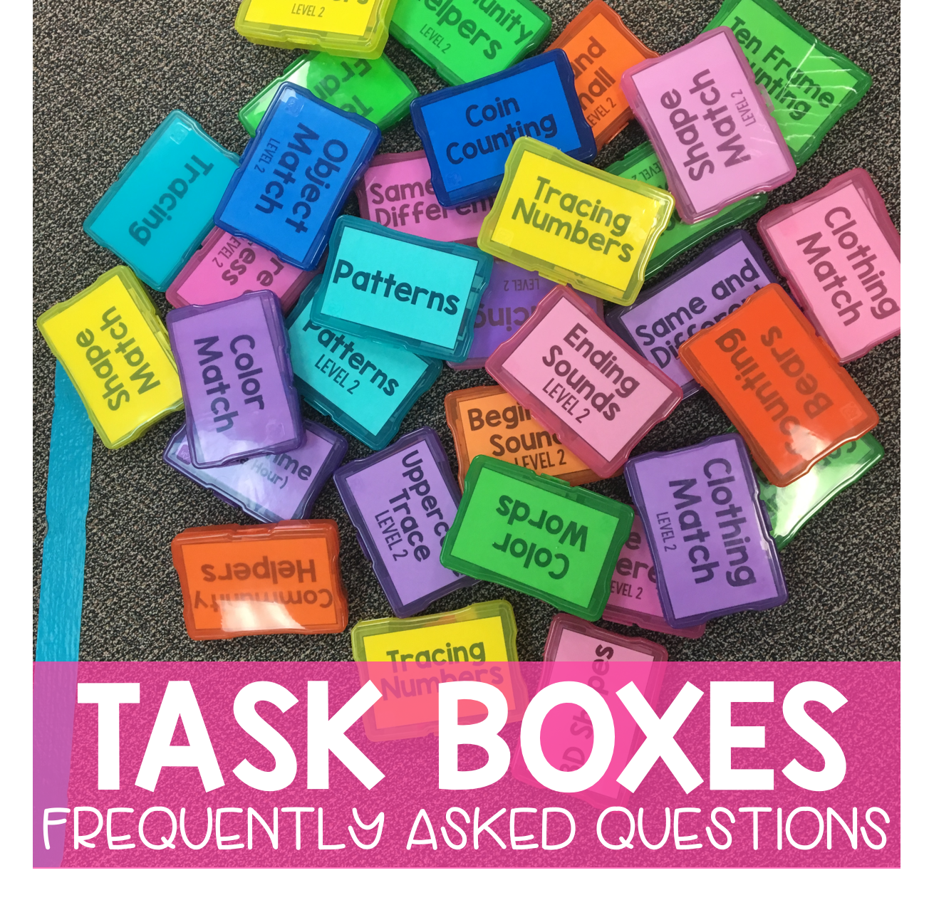 Whats In Label In Special Ed Words >> Faq Task Boxes