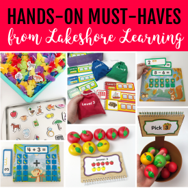 Hands-On Must Haves from Lakeshore Learning