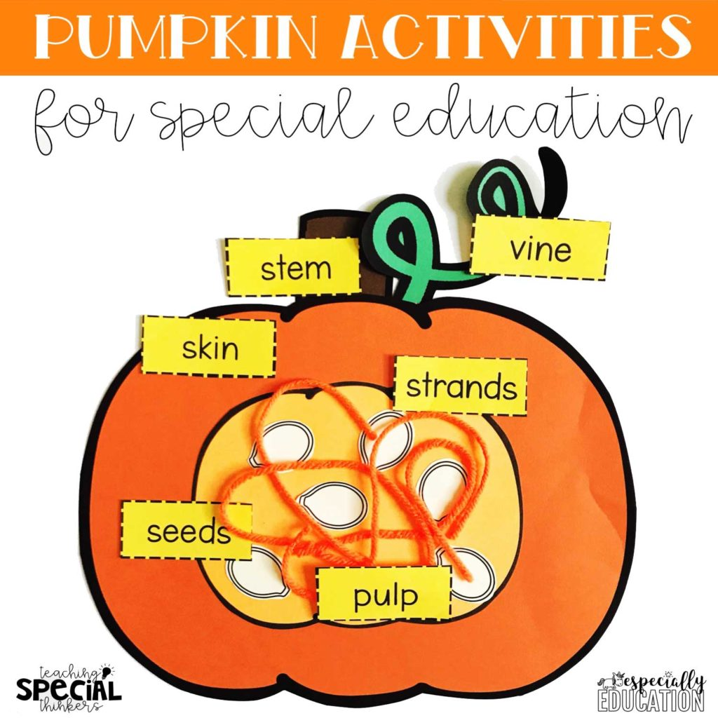Made For Me Literacy Pumpkin Activities